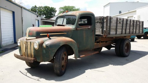 1946 Ford 1 1/2 Ton Grain truck for sale