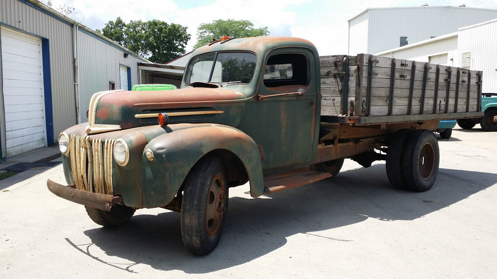 1946 Ford 1 1 2 Ton Grain Truck For Sale