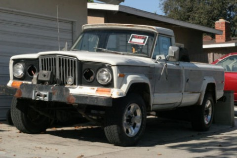 1977 Jeep J20 Pioneer Standard Cab Pickup for sale
