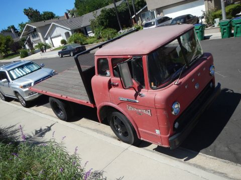 Vintage 1961 Ford C-550 COE Catalina Beverage Co. for sale