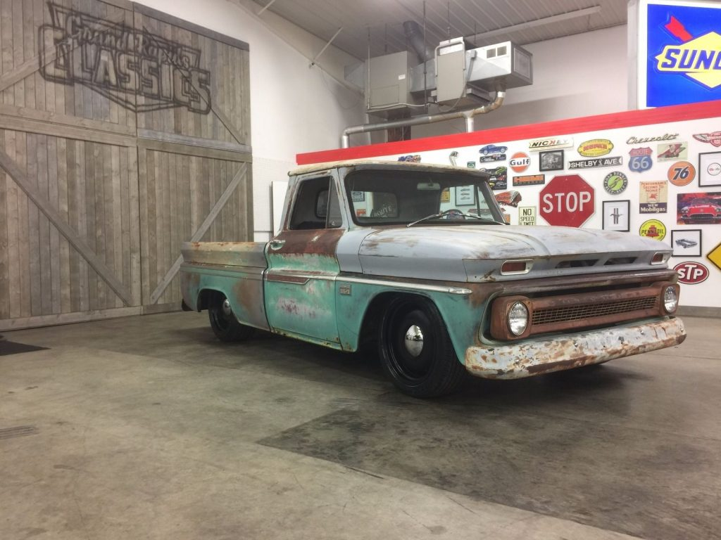 1966 Chevrolet C-10 Custom Ridetech AIR Ride