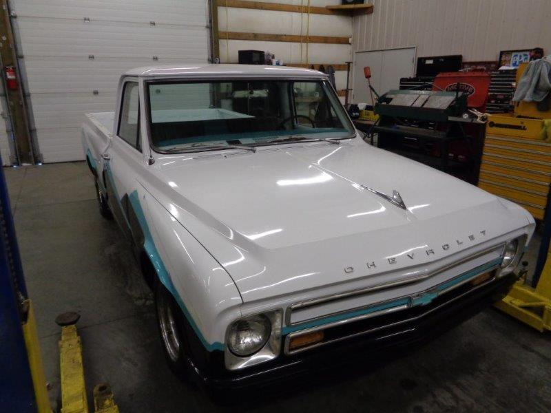 1967 Chevrolet C-10 Short Box Bed
