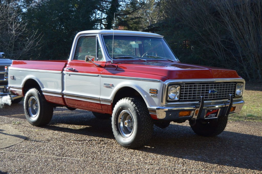 1971 Chevrolet Cheyenne Super Short Bed