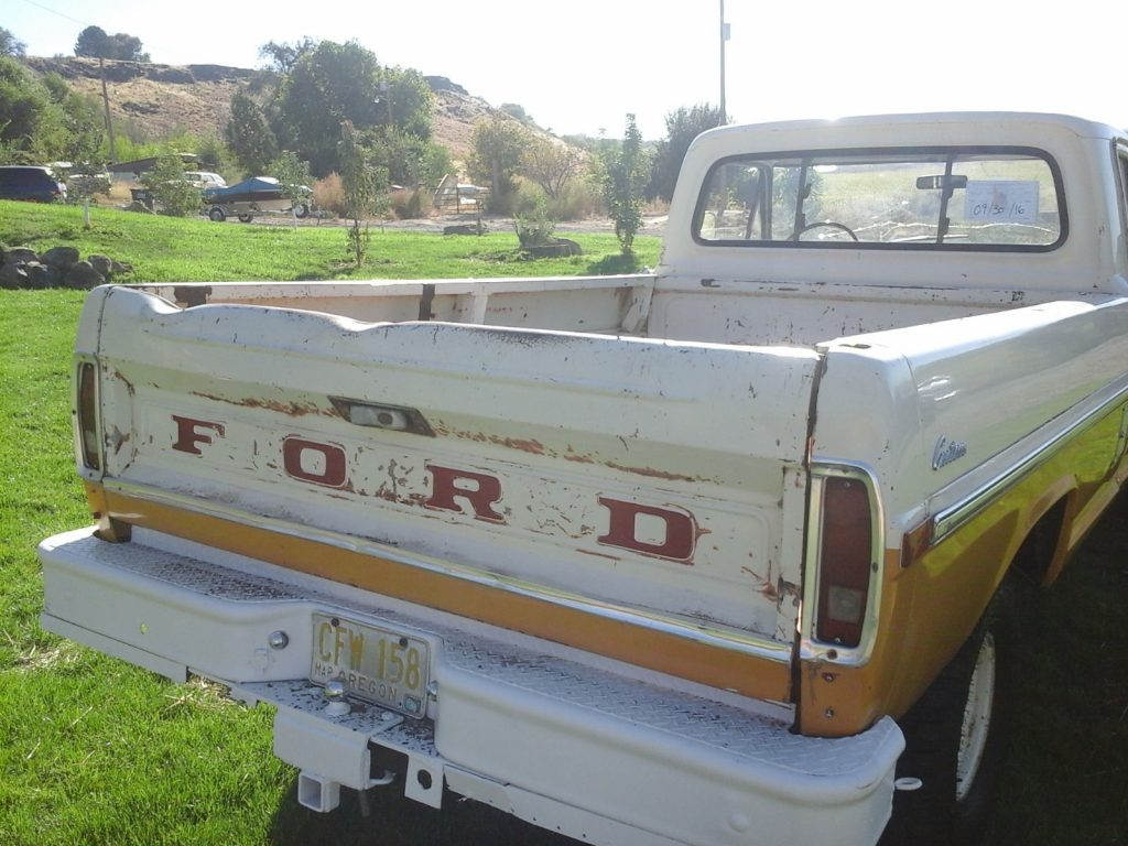 1971 Ford F-100 Custom Package