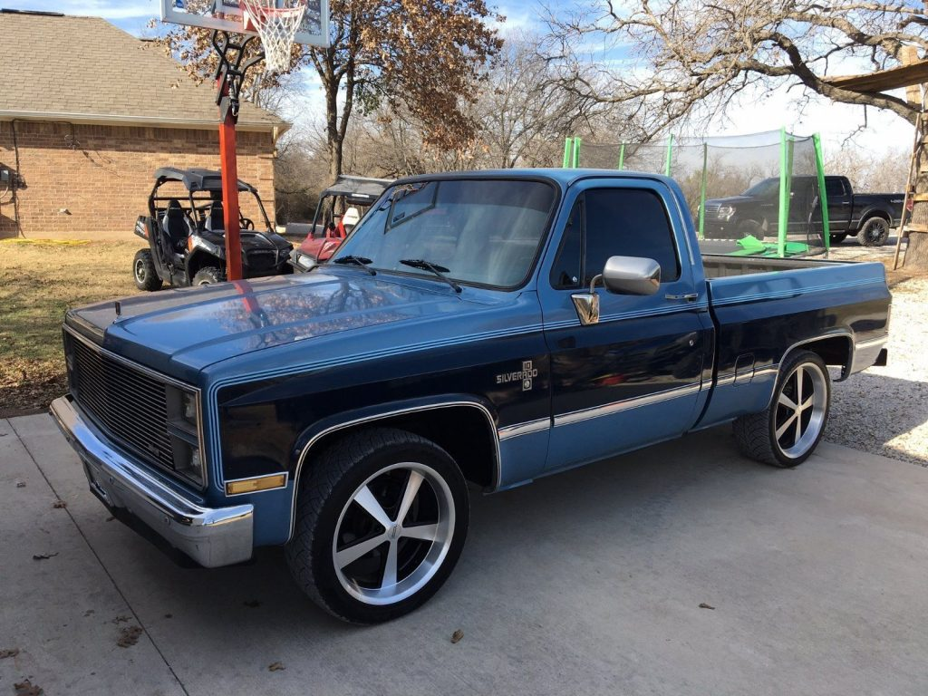 All Chevy 1984 chevrolet c10 : Charming 1984 Chevrolet C10 Silverado Big Block Pickup truck for sale