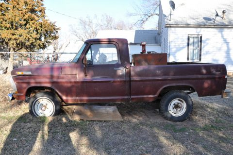 1972 Ford F-100 custom 4WD for sale