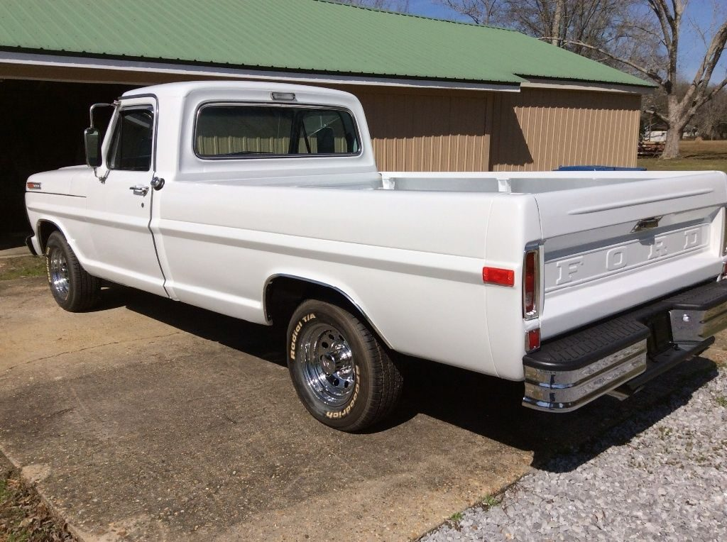 1972 Ford F100 after full restoration