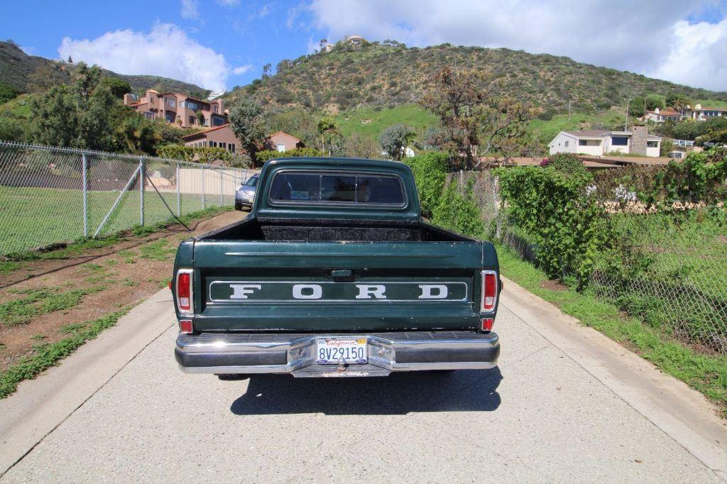 1972 Ford F100 short bed custom
