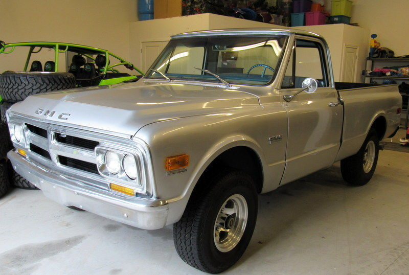 Restored 1968 GMC C10 Short Bed