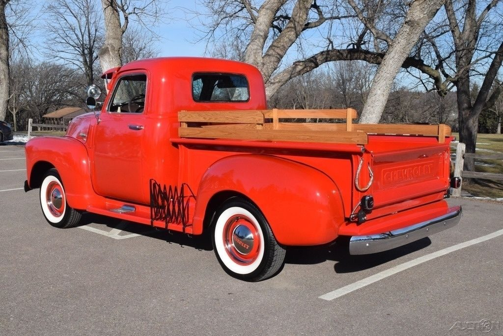 1949 Chevrolet 3100 Pickup with vintage accessories