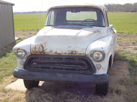 1957 Chevrolet Pickup in original condition, needs some work for sale