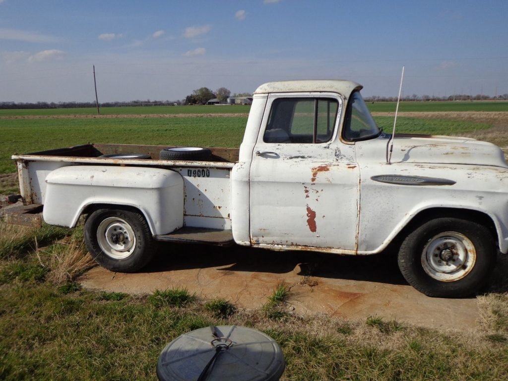 1957 Chevrolet Pickup in original condition, needs some work