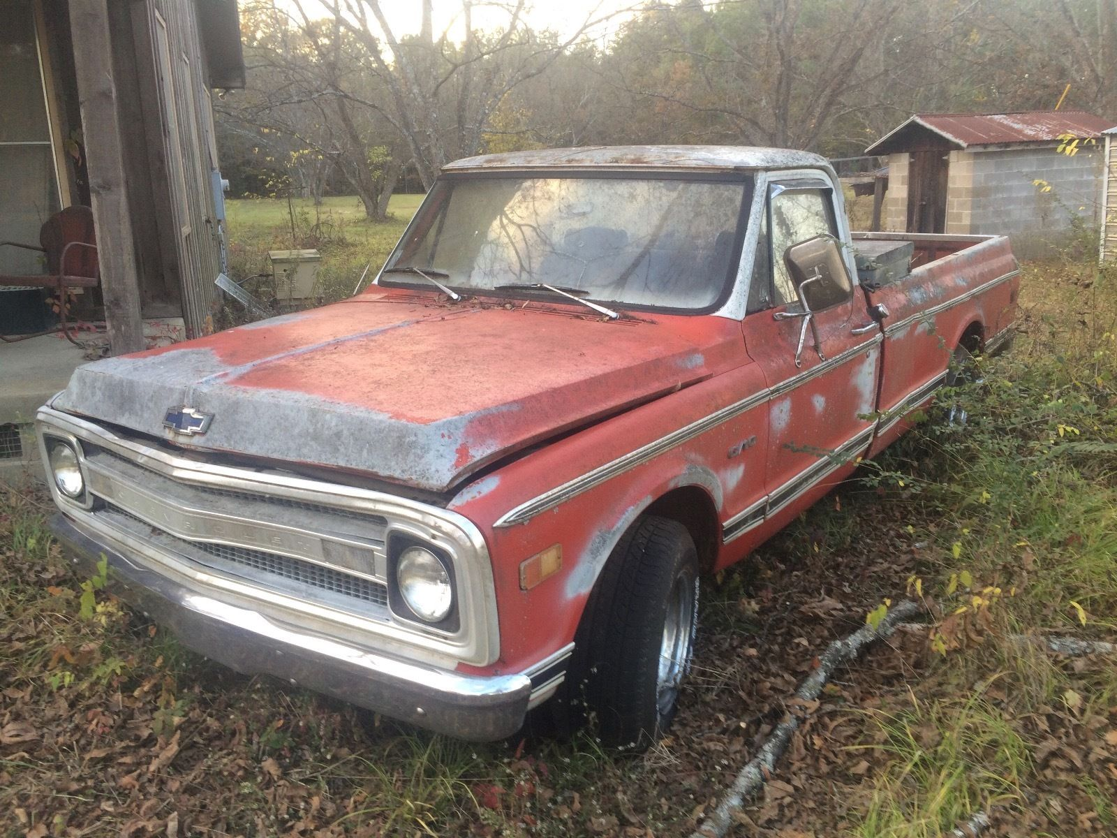 1968 chevrolet c 10 in fair condition for sale. Black Bedroom Furniture Sets. Home Design Ideas