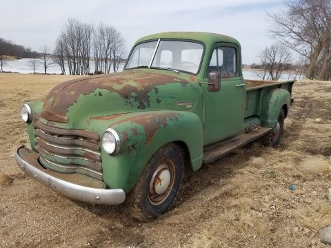 Original 1953 Chevrolet Pickup farm truck with patina for sale