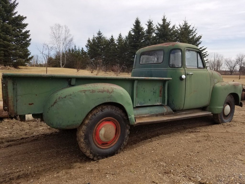 Original 1953 Chevrolet Pickup farm truck with patina