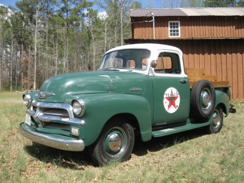Rust Free 1954 Chevrolet Pickup with low miles for sale