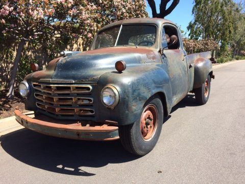 Well preserved 1949 Studebaker 2R10 3/4 Ton Long Bed with overhauled engine for sale
