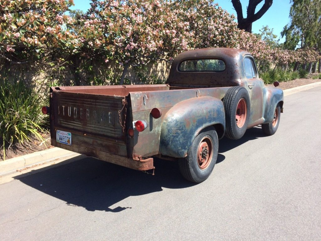 Well preserved 1949 Studebaker 2R10 3/4 Ton Long Bed with overhauled engine