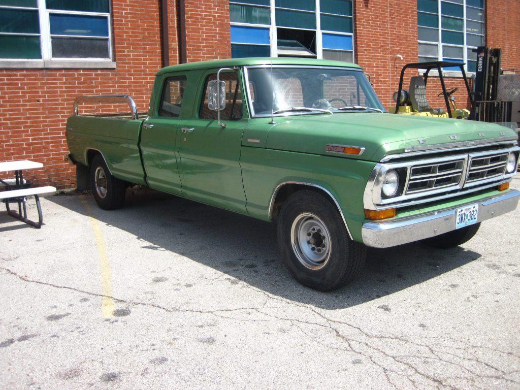 Always garaged 1972 Ford F 350 CREW CAB