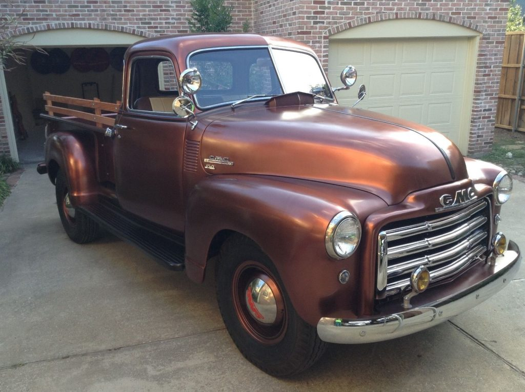 Frame Off Restored 1949 Gmc Pickup Vintage Truck For Sale
