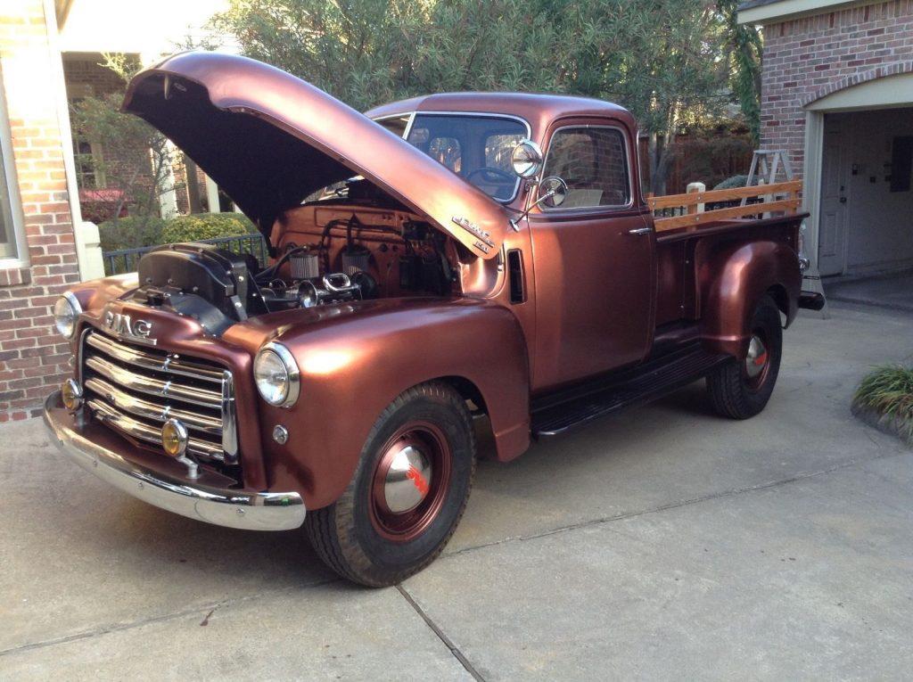 Frame off restored 1949 GMC Pickup vintage truck
