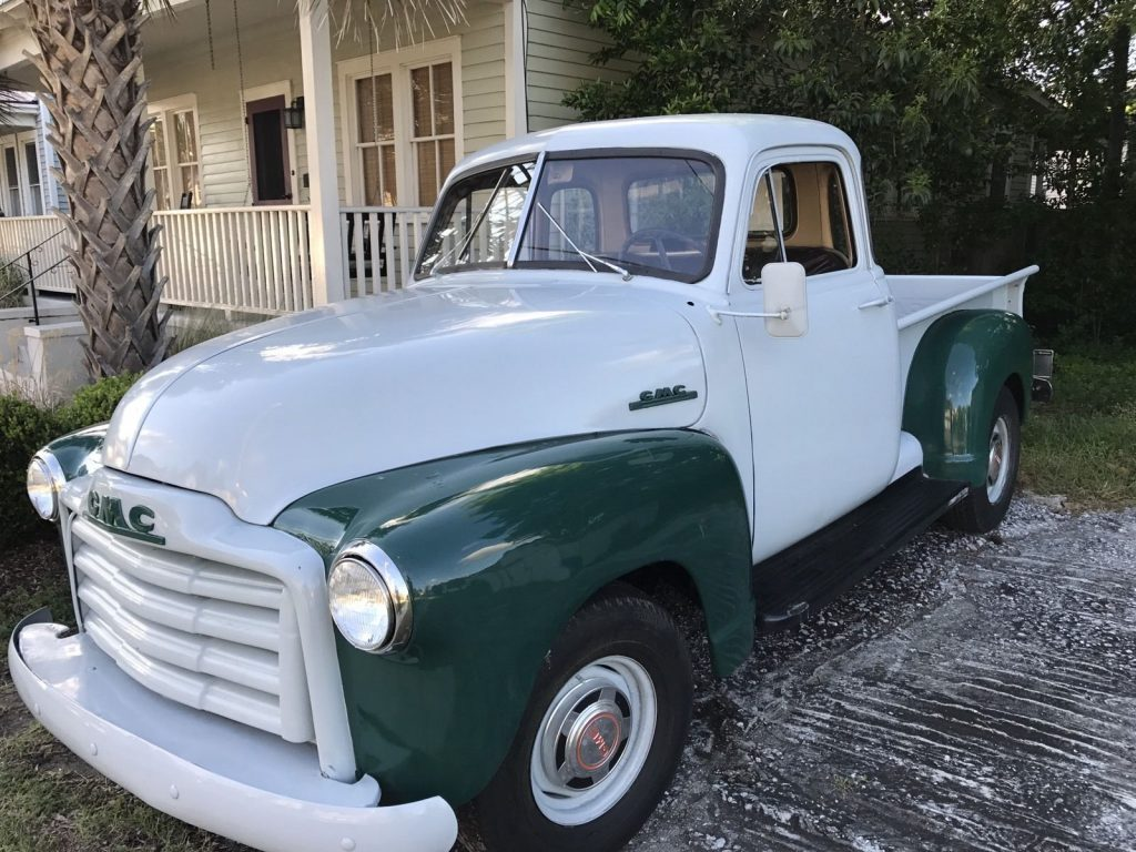 Rare 5-window 1953 GMC vintage truck