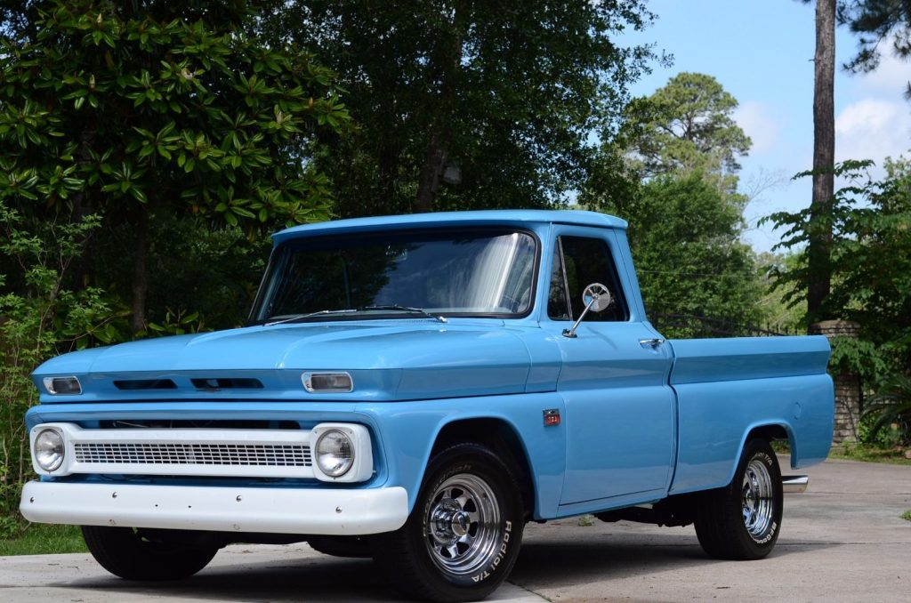 Restored 1966 Chevrolet C 10 Short Wheel Base / Fleet side vintage