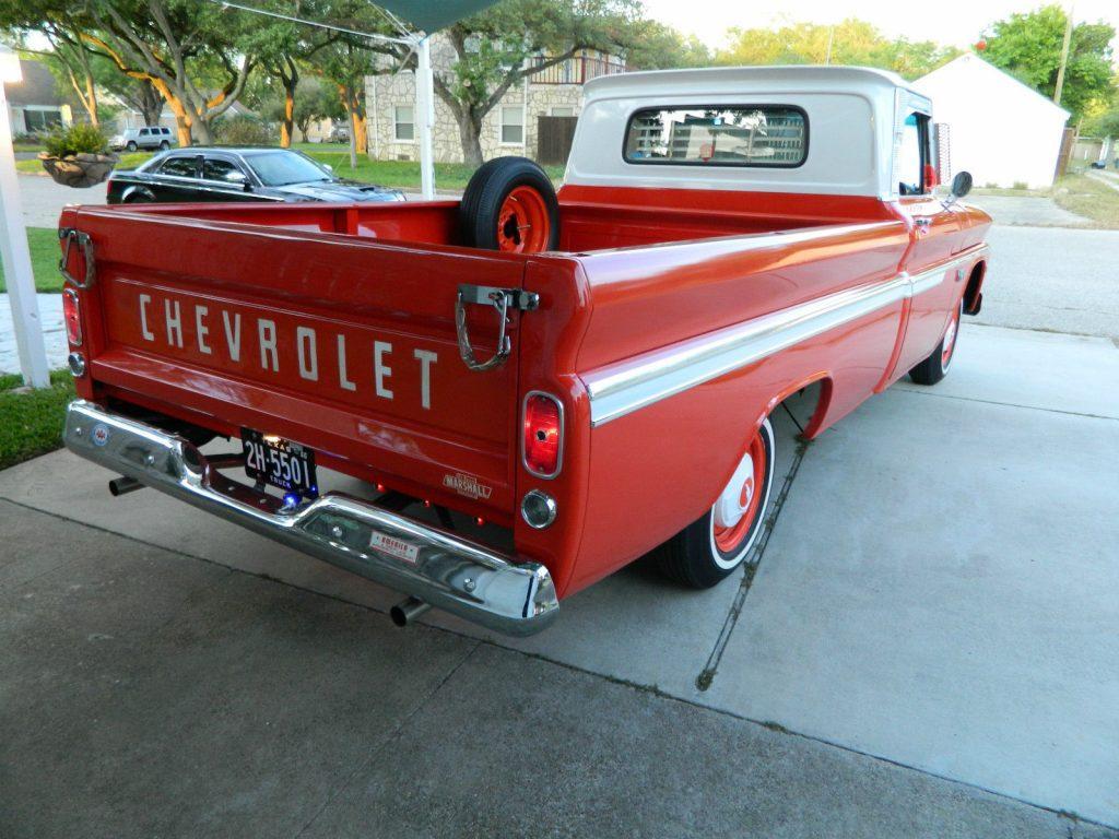Restored 1966 Chevrolet C 10 standard vintage truck
