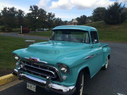 1957 Chevrolet Pickups 3100 Short bed vintage truck for sale