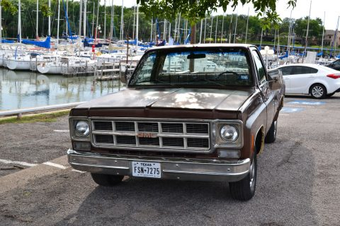 All original 1977 GMC Sierra 1500 Classic vintage for sale