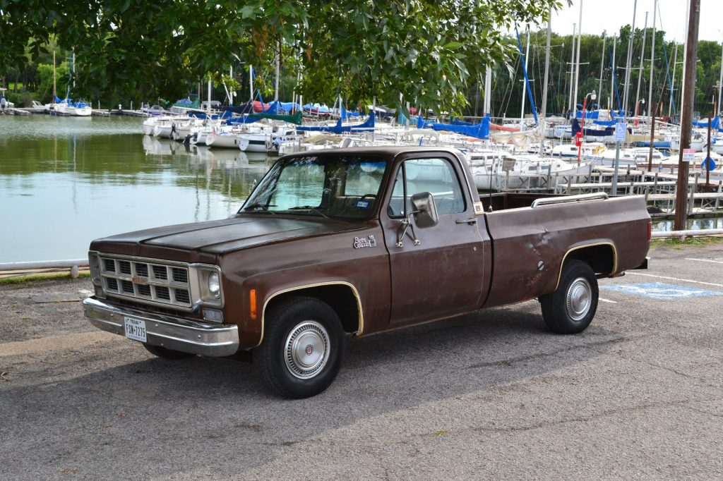 All original 1977 GMC Sierra 1500 Classic vintage