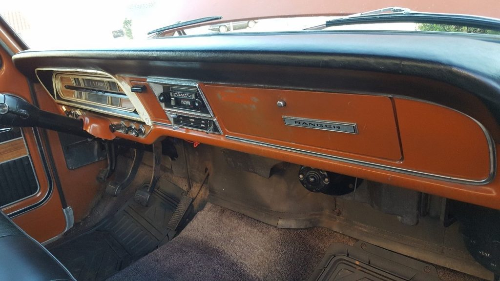 Extremely original 1969 Ford F 100 vintage truck