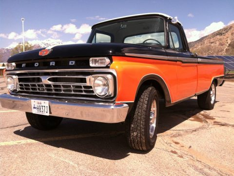 Frame off resto 1966 Ford F 250 Custom Cab vintage for sale