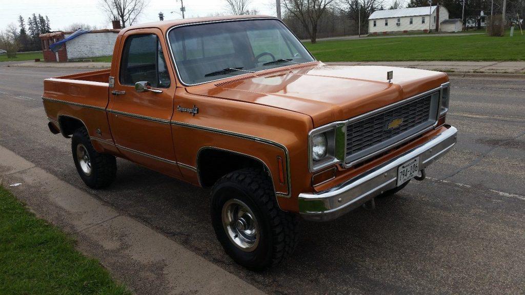 Frame off resto 1973 Chevrolet C/K Pickup 1500 Cheyenne vintage truck