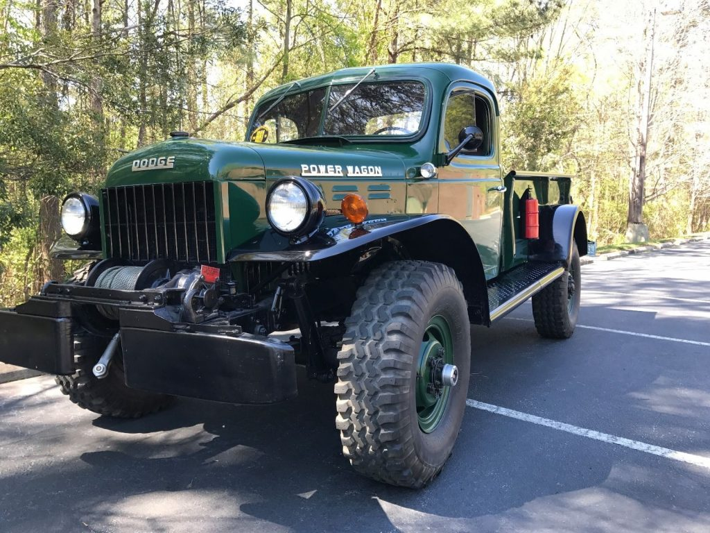 Frame off restored 1952 dodge power wagon vintage for sale for Motorized wagon for sale