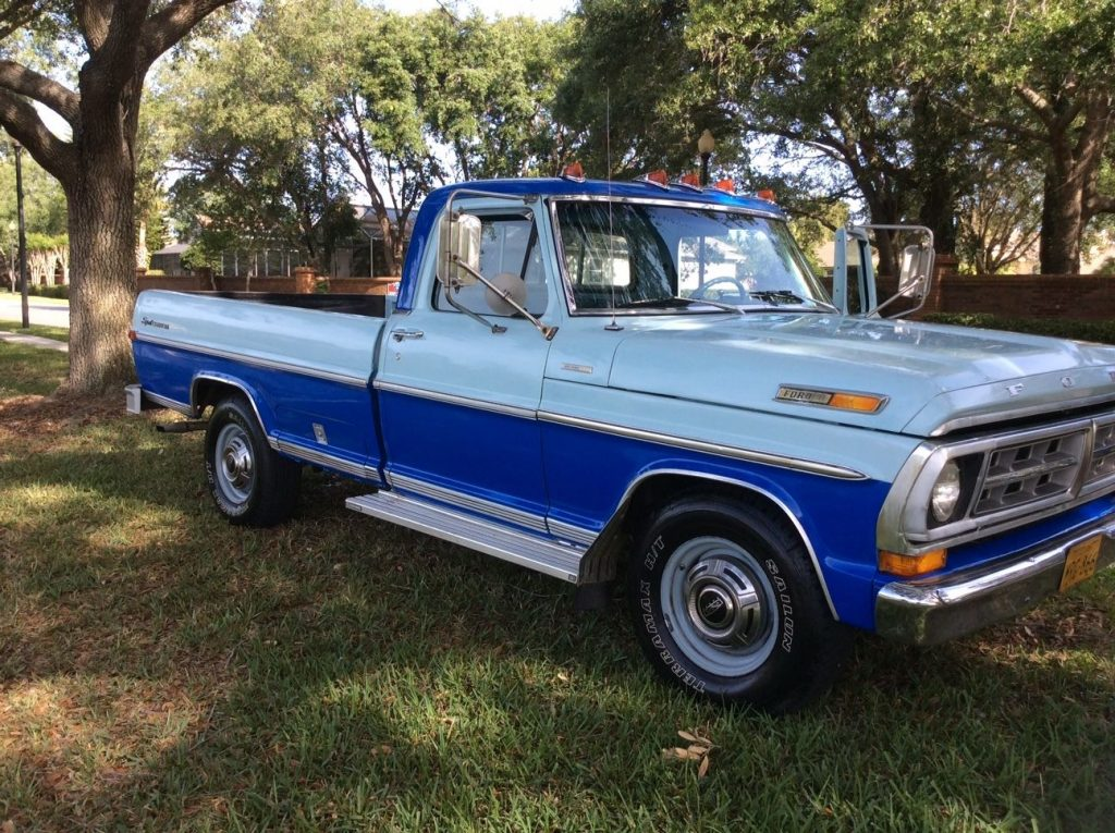 Great looking 1971 Ford F 250 Sport CUSTOM