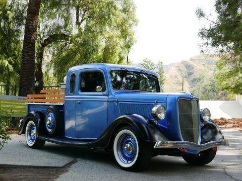 Newer engine 1936 Ford Pickups Shortbed vintage for sale