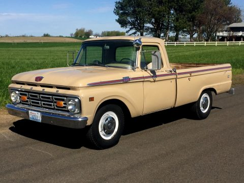 Original clean 1964 Ford F 250 Custom Cab vintage for sale