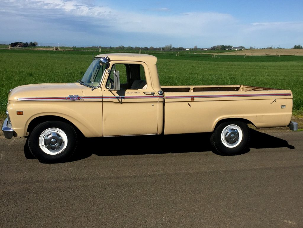 Vintage Truck For Sale >> Original clean 1964 Ford F 250 Custom Cab vintage for sale