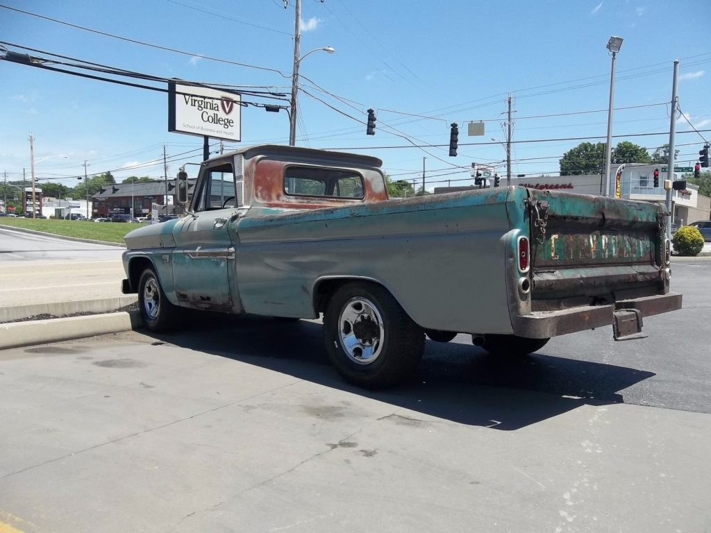 Original condition 1966 Chevrolet C 10 Custom vintage