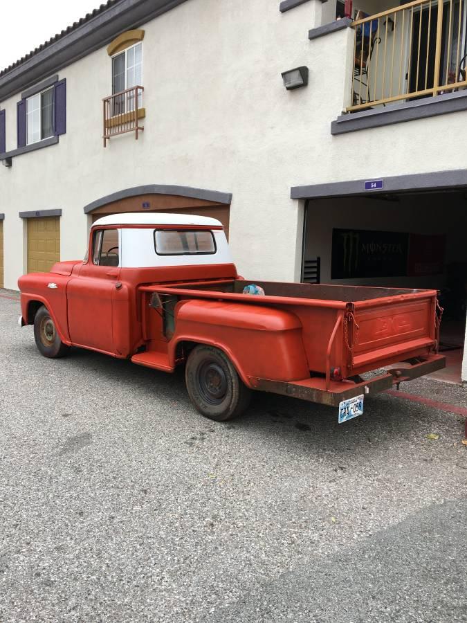 Original unrestored 1959 GMC 1/2 ton vintage