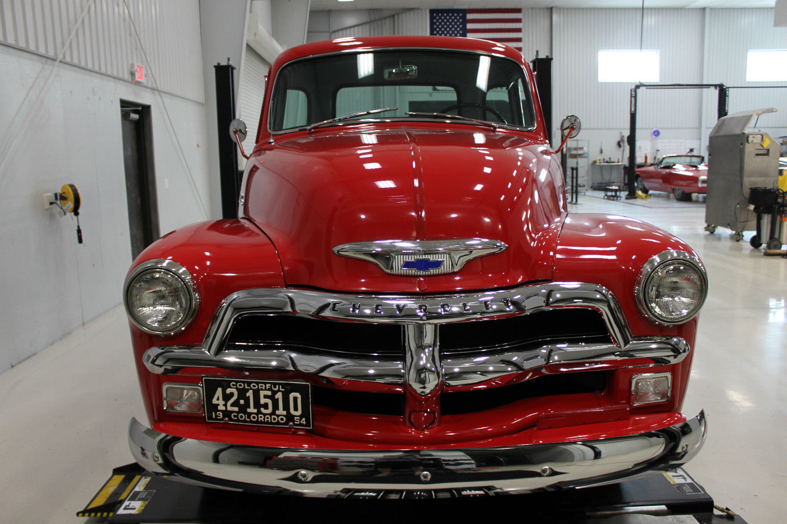 restored 1954 chevrolet pickups 3100 vintage truck for sale. Black Bedroom Furniture Sets. Home Design Ideas