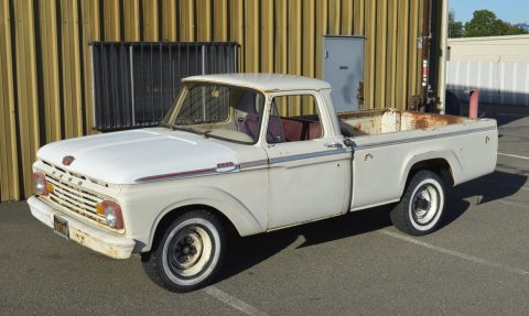 Strong hauler 1963 Ford F 250 CUSTOM vintage truck for sale
