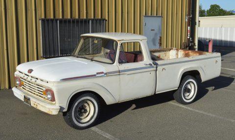 Strong hauler 1963 Ford F 250 CUSTOM vintage truck for sale