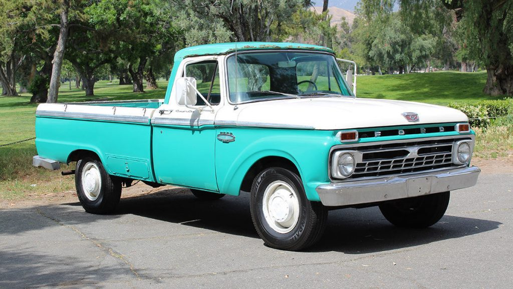 Vintage classic 1965 Ford F 250 California Custom Cab/camper Special ...