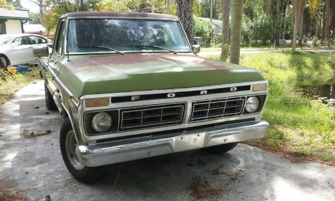 Barn find 1976 Ford F 100 RANGER vintage for sale