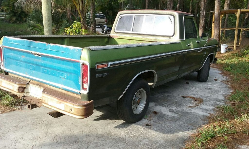 Barn find 1976 Ford F 100 RANGER vintage