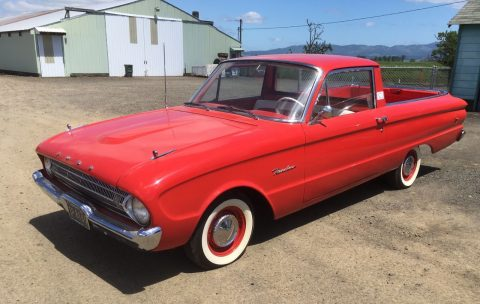 Completely restored 1961 Ford Ranchero vintage for sale
