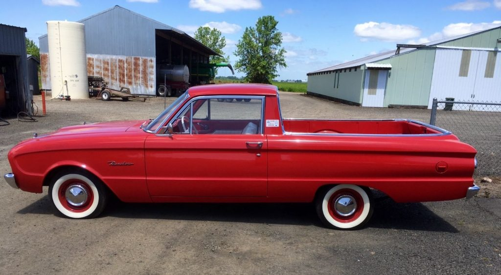 Completely Restored 1961 Ford Ranchero Vintage For Sale