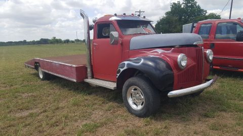 Converted car hauler 1947 Studebaker flatbed vintage for sale